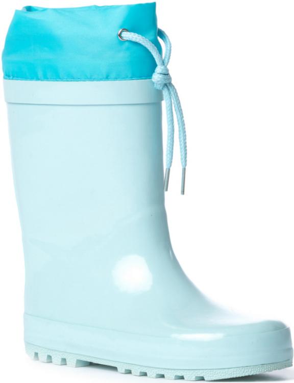 Резиновые сапоги172201Стильные сапоги на натуральной подкладке прекрасно подойдут для прогулок в дождливую погоду. Подошва из гибкого, не скользящего материала. Рифление обеспечивает хорошее сцепление с поверхностью. Удобная пятка укреплена жестким задником. Модель плотно садится на ноге ребенка, что обеспечивает комфорт при носке. Верх сапог дополнен шнурком - кулиской.
