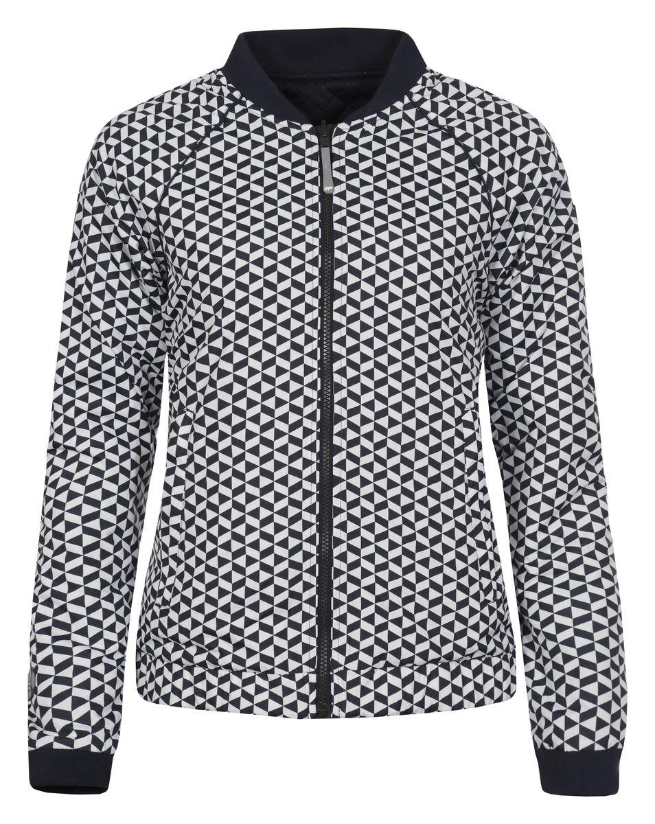 Куртка753006554IVЖенская двухсторонняя куртка Icepeak выполнена из качественного полиэстера. Модель с длинными рукавами застегивается на застежку-молнию. Изделие дополнено врезными карманами и манжетами на рукавах.
