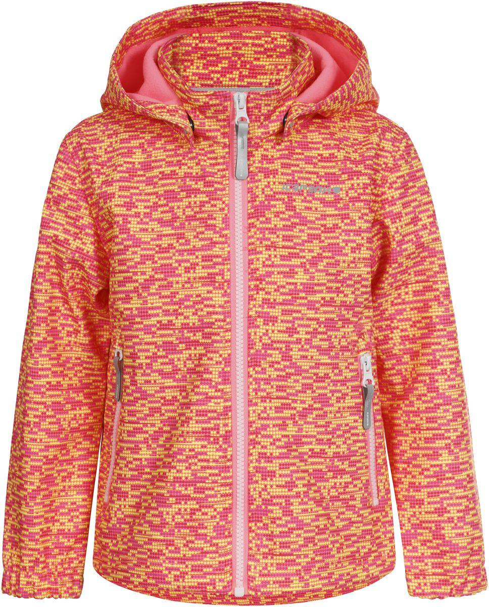 Куртка751815IVT_881Куртка для девочки Icepeak выполнена из качественного материала. Модель со съемным капюшоном и длинными рукавами застегивается на молнию. Изделие дополнено двумя врезными карманами на молниях.