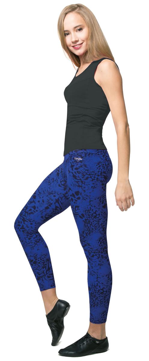 ЛеггинсыAL-3016Эффектные спортивные лосины Grishko яркой модной расцветки с плотным высоким поясом - прекрасный выбор для занятий фитнесом. Лосины из полиамида и лайкры не сковывают движений и подчеркивают спортивное телосложение. Материал отлично пропускает воздух, впитывает влагу и сохраняет форму. Линия эргономичной одежды создана для всех видов активных физических нагрузок.