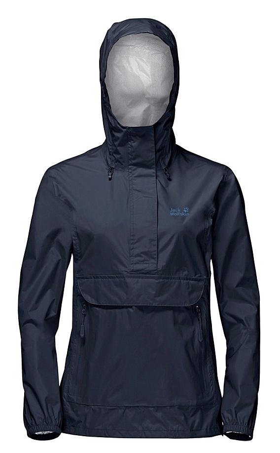Куртка1108641-1910Куртка-анорак Cloudburst Smock изготовлена из 100% полиамида. Ткань легкая, дышащая, водонепроницаемая и непродуваемая. Модель имеет длинные стандартные рукава с манжетами на резинке, капюшон с регулировкой объема и воротник на молнии. Спереди расположен большой карман с клапаном, в котором удобно хранить карты, GPS и другие необходимые в походе вещи, а также два кармана на молнии. Такая куртка идеальна для небольших походов в лесу или в горах. Если вдруг вас застанет дождь, то не переживайте - куртка не даст вам промокнуть, и вы с комфортом доберетесь до места назначения. Модель компактно складывается и не занимает много места в рюкзаке.