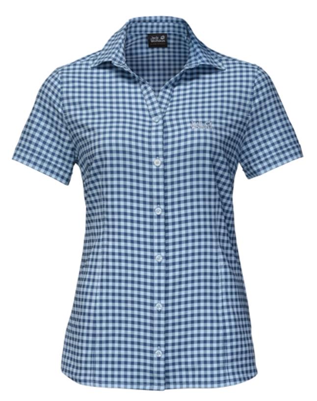 Рубашка1401723-7919Легкая рубашка с защитой от УФ-лучей - идеальный вариант для путешествий по солнечным странам. Наша женская рубашка KEPLER невероятно легкая и эластичная, благодаря чему в ней очень комфортно в теплые летние дни. К тому же, она исключительно дышащая и быстро сохнет. В ней даже есть маленький секретный карман. Но никому о нём ни слова!