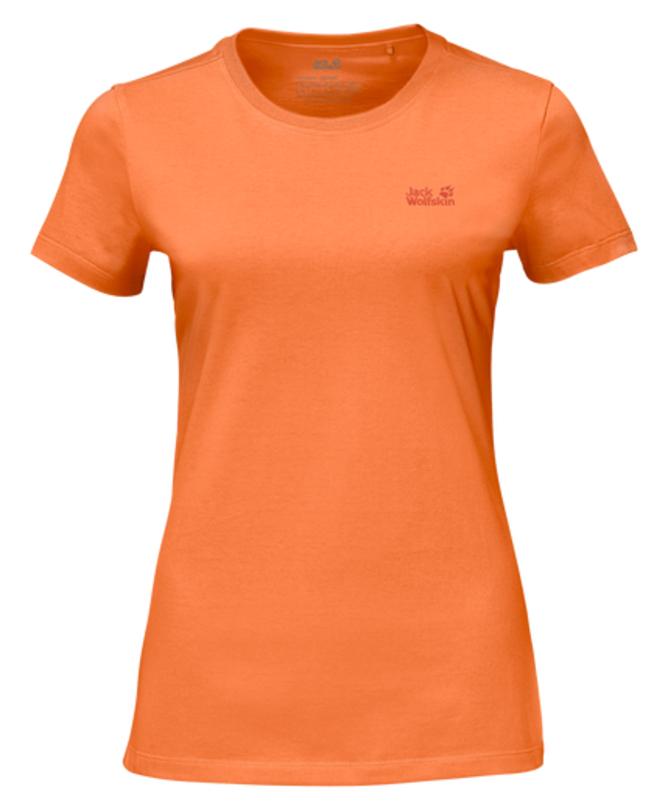 Футболка1805791-1910Футболка женская Essential T W изготовлена из полиэстера и органического хлопка. Ткань легкая и мягкая, быстро сохнет, приятная на ощупь и очень прочная. Модель имеет круглый вырез горловины и короткие стандартные рукава. Футболка дополнена логотипом бренда. В такой футболке вам будет комфортно весь день, она универсальна и подходит для повседневной жизни так же хорошо, как и для активного отдыха на природе.