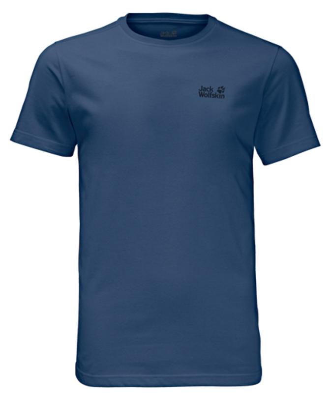 Футболка1805781-1010Эта классическая, простая футболка просто необходима в гардеробе любого туриста. В ткани сочетаются лучшие качества полиэстера и хлопка. Она быстро сохнет, стойка к износу и приятна для кожи.