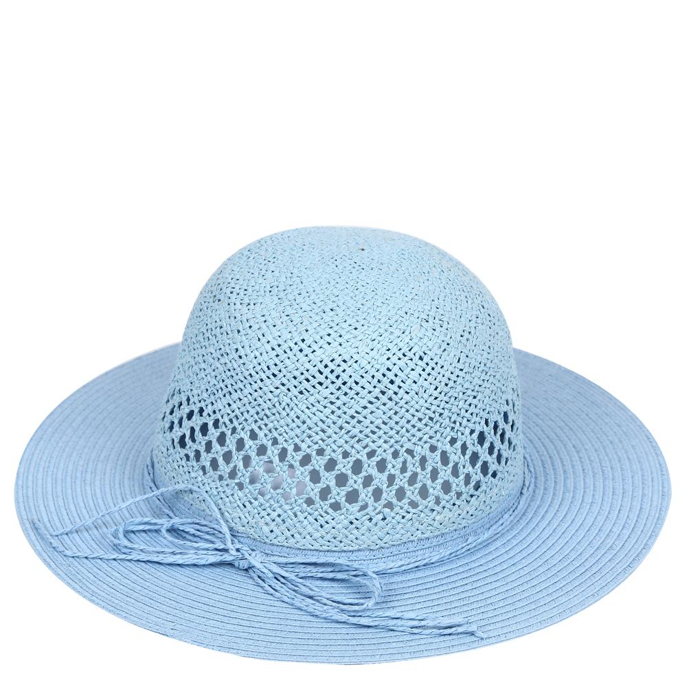 ШляпаGL42-4 WHITEСтильная шляпа от Fabretti для пляжного отдыха и прогулок в солнечные дни.