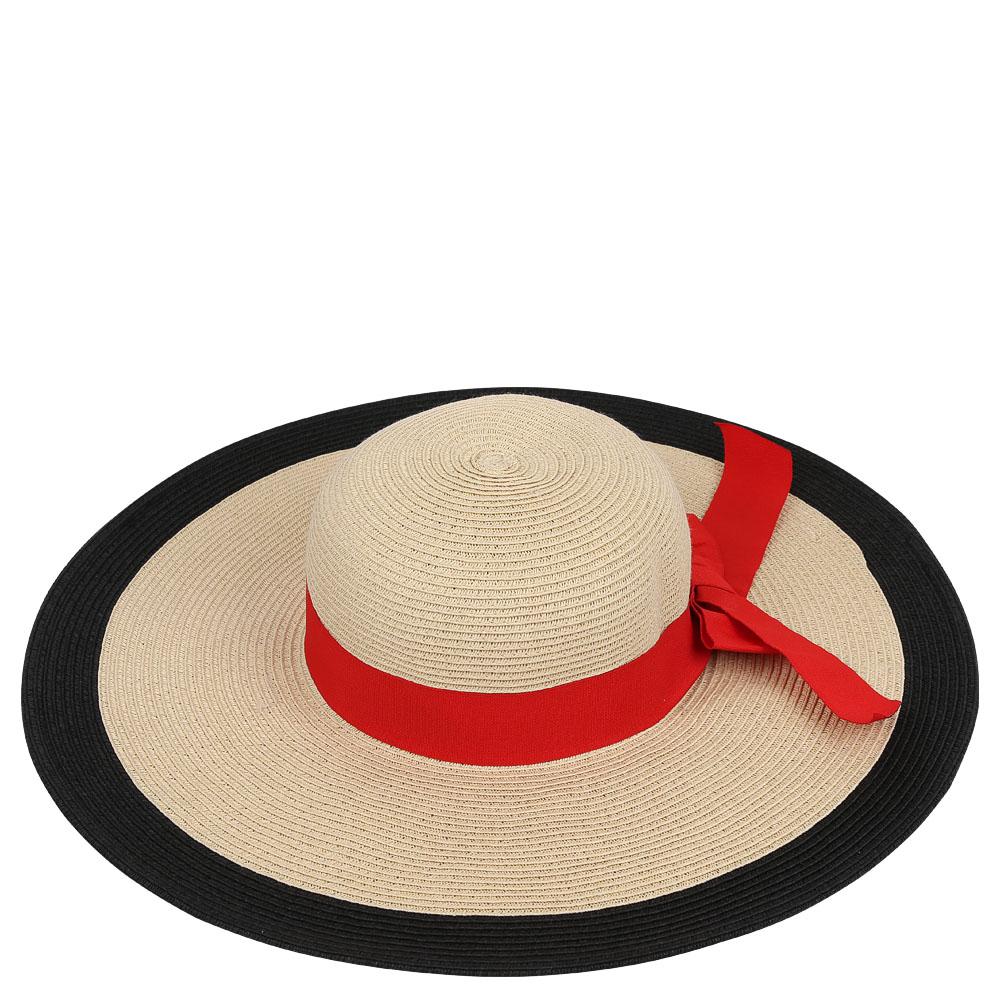 ШляпаG39-3 BEIGEСтильная шляпа для пляжного отдыха и прогулок в солнечные дни.