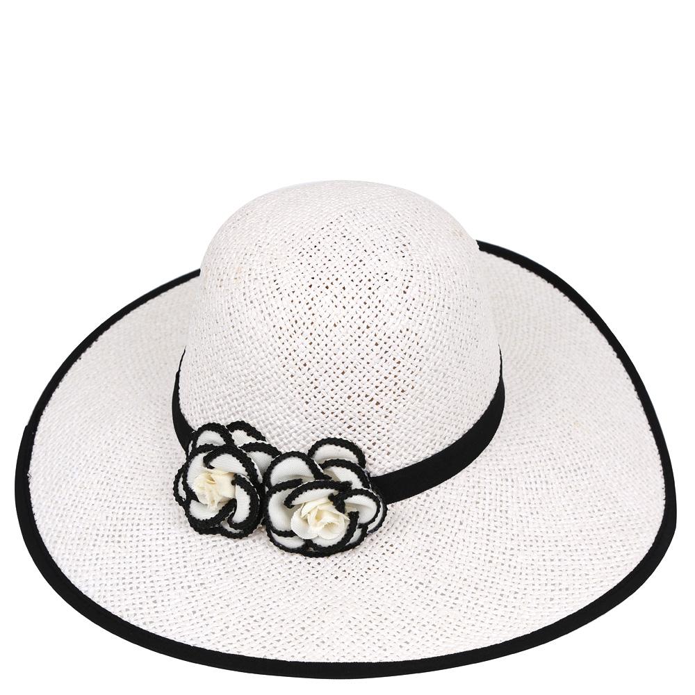 ШляпаG29-2 BLACKСтильная шляпа от Fabretti для пляжного отдыха и прогулок в солнечные дни.