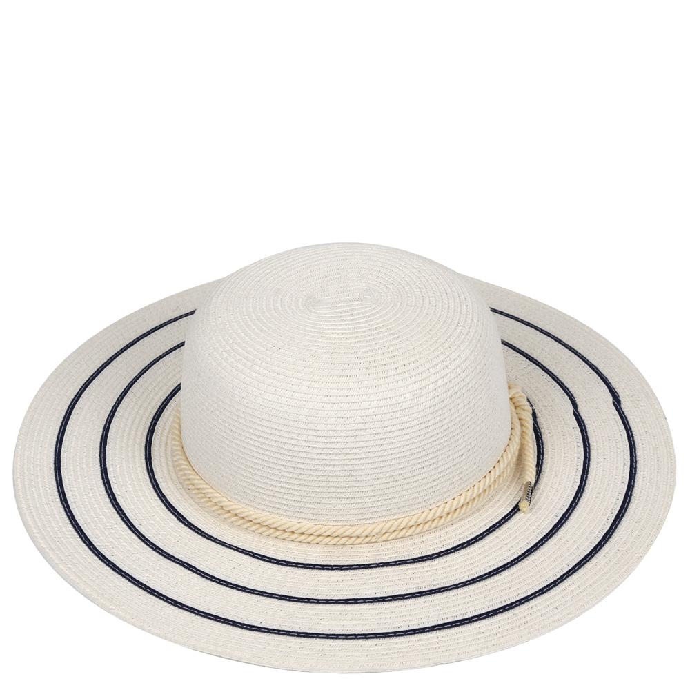 ШляпаG28-3 BEIGEСтильная шляпа для пляжного отдыха и прогулок в солнечные дни.