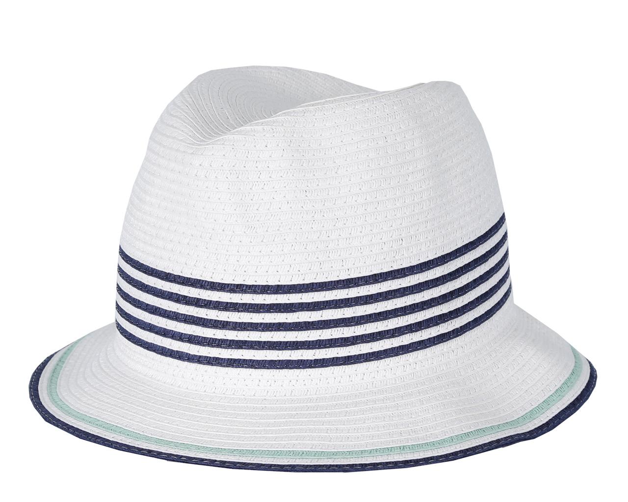 ШляпаGL29-4 WHITEСтильная шляпа от Fabretti для пляжного отдыха и прогулок в солнечные дни.