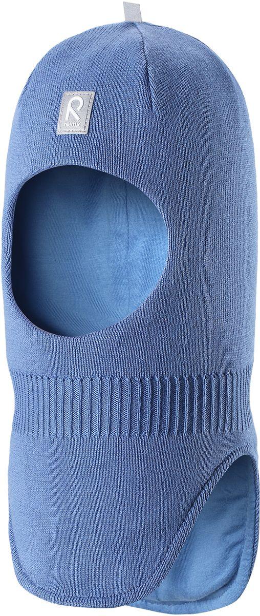 Шапка детская5183960100Классическую балаклаву для малышей легко комбинировать с разнообразной верхней одеждой. Шапка-шлем связана из мягкого хлопка, поэтому ее можно носить и весной, и осенью. Эта модель хорошо защищает лоб, уши и шею, а ветронепроницаемые вставки в области ушей гарантируют дополнительную защиту от пронизывающего ветра.