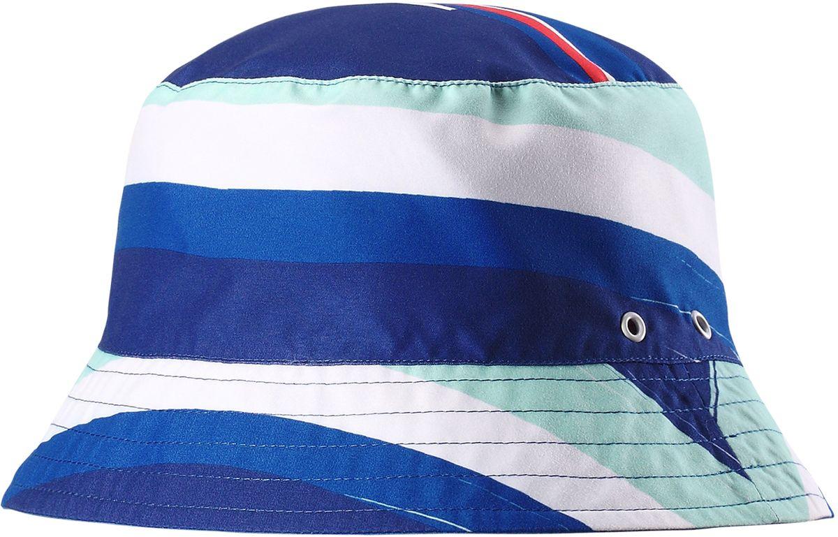 Панама5285216690Защитная панама для малышей и детей постарше с фактором УФ-защиты 50+. Козырек панамы защищает глаза и шею от вредного ультрафиолета. Изготовлена из дышащего и легкого материала SunProof. Выбирайте эту двухстороннюю панаму и вы получите 2-в-1!