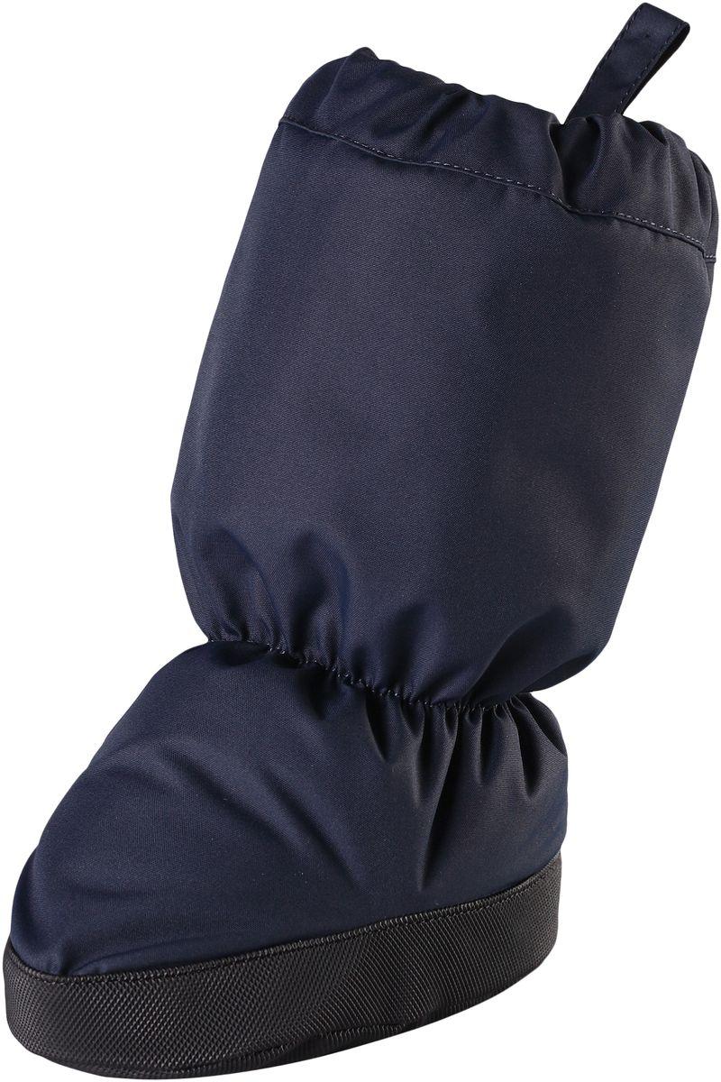 Пинетки5171560740Эластичные, теплые и удобные пинетки для малышей просто идеальны для прогулок в коляске. Пинетки изготовлены из ветро- и водонепроницаемого, грязеотталкивающего материала, которому не страшны брызги и небольшой дождик. Их очень легко надевать благодаря эластичным резинкам на голени и щиколотке. Нескользящая подошва не даст малышу упасть на скользкой поверхности. Обратите внимание: пинетки могут промокать, так как они выполнены из водонепроницаемого материала не полностью.