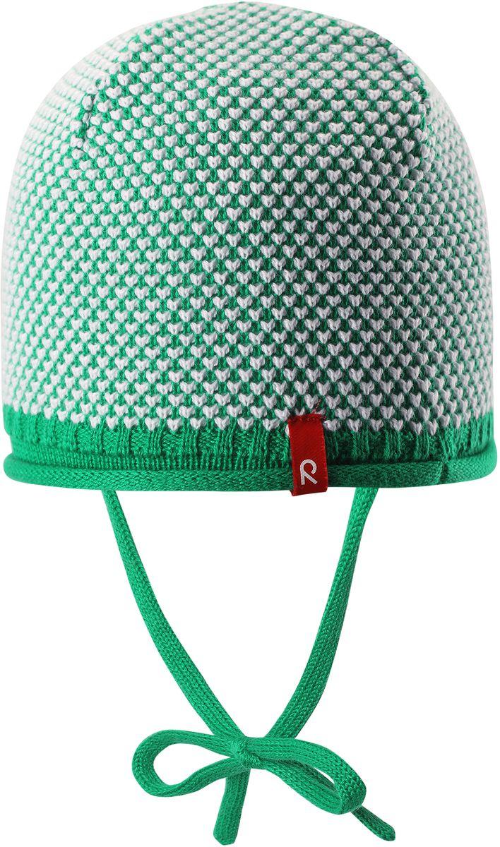 Шапка детская5184076530Детская шапка яркой расцветки рассчитана на межсезонье, в ней можно и поиграть во дворе, и прогуляться по городу. Она изготовлена из мягкого и комфортного вязаного хлопка. Эта облегченная модель без подкладки идеально подходит для солнечной погоды.