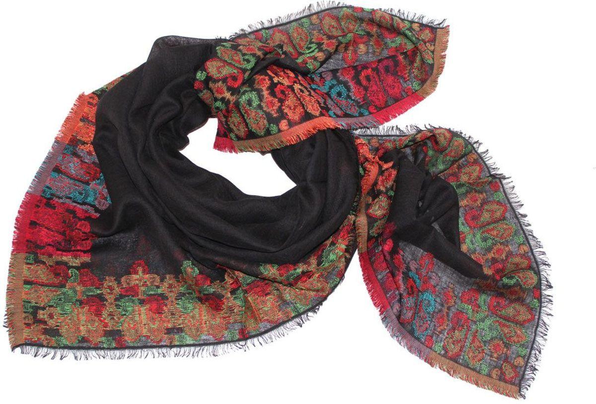 Платок116630аПлаток Ethnica, выполненный из шерсти с добавлением хлопка, гармонично дополнит образ современной женщины. Благодаря своему составу, он легкий, мягкий и приятный на ощупь. Модель оформлена оригинальным принтом. Классическая квадратная форма позволяет носить платок на шее, украшать им прическу или декорировать сумочку. С таким платком вы всегда будете выглядеть женственно и привлекательно.