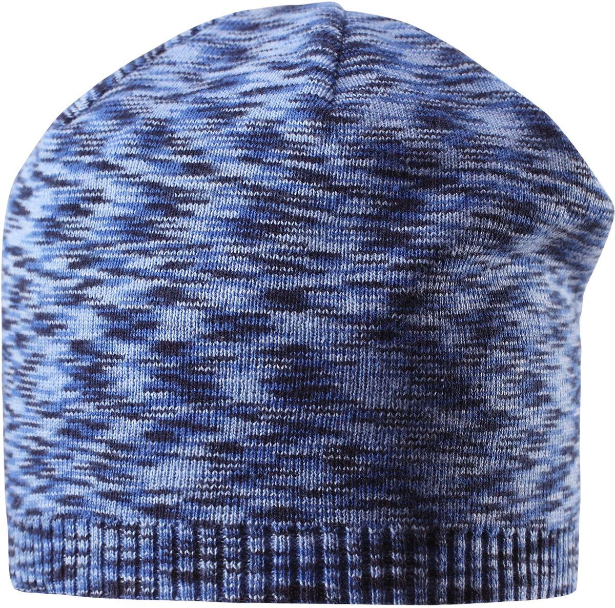 Шапка детская5285273360Стильная детская шапка прекрасно подойдет для весенней поры. Она изготовлена из эластичного и легкого вязаного хлопка, мягкого и приятного на ощупь. Материал сертифицирован по стандарту Oeko-Tex. Удлиненная, облегченная модель без подкладки.