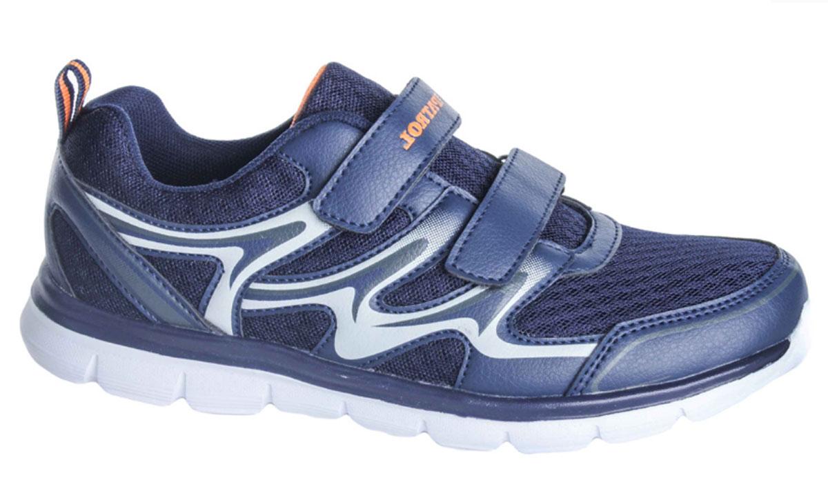 Кроссовки963-805T-17s-01/8-16Стильные кроссовки от Patrol - отличный выбор для вашего мальчика на каждый день. Верх модели выполнен из синтетической кожи и сетчатого текстиля. Ремешки с застежками-липучками на подъеме обеспечивают надежную фиксацию обуви на ноге. Подкладка и стелька из текстильного материала создают комфорт при носке. Подошва выполнена из резины. Рифление на подошве обеспечивает отличное сцепление с любой поверхностью. Модные и комфортные кроссовки - необходимая вещь в гардеробе каждого ребенка.