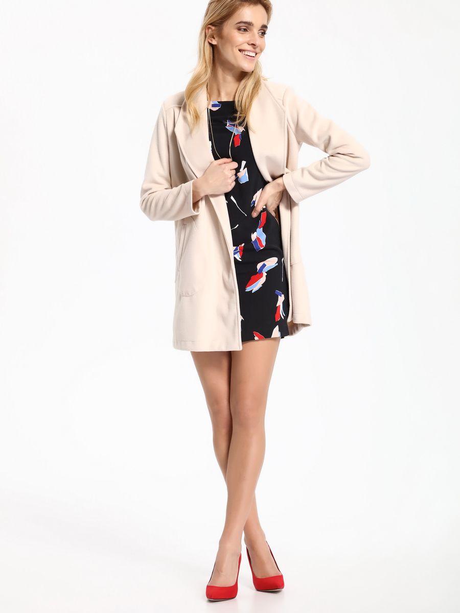 ПальтоSPZ0383BEЖенское пальто Top Secret выполнено из высококачественного комбинированного материала. Модель с длинными рукавами приятной расцветки.
