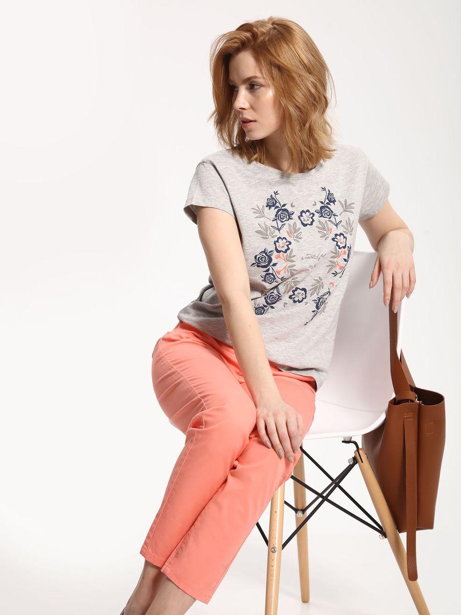 БрюкиSSP2416POСтильные женские брюки Top Secret - брюки высочайшего качества на каждый день, которые прекрасно сидят. Модель изготовлена из высококачественного комбинированного материала. Эти модные и в тоже время комфортные брюки послужат отличным дополнением к вашему гардеробу. В них вы всегда будете чувствовать себя уютно и комфортно.
