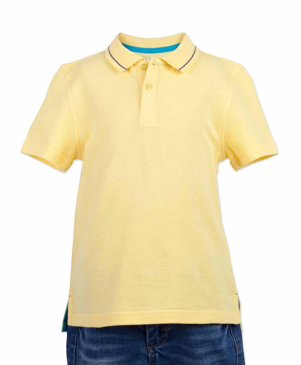 Поло117BBBC14012700Яркая футболка-поло - изделие из разряда must have! Это не только базовая вещь в гардеробе ребенка, но и залог хорошего летнего настроения! Если вы решили купить недорогую футболку-поло для мальчика, выберете желтую модель от Button Blue и ваш ребенок будет доволен! Низкая цена не окажет влияния на бюджет семьи, позволив создать интересный базовый гардероб для долгожданных каникул!