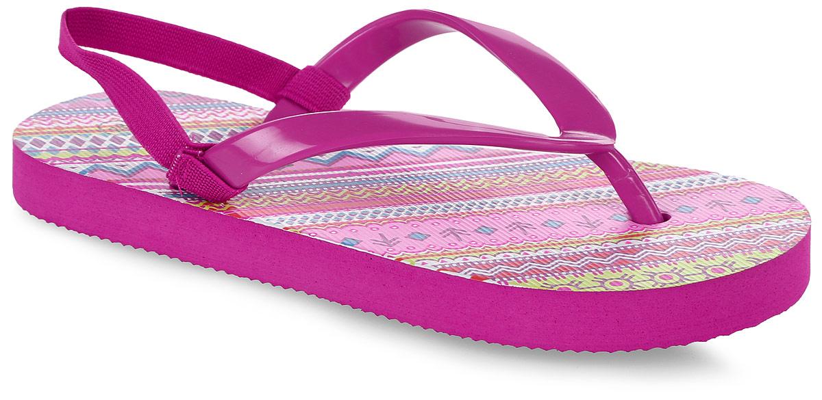 Шлепанцы172245Яркие шлепанцы от PlayToday изготовлены из резины. Ремешки с перемычкой гарантируют надежную фиксацию модели на ноге. Рельефное основание подошвы обеспечивает уверенное сцепление с любой поверхностью. Удобные шлепанцы прекрасно подойдут для похода в бассейн или на пляж.