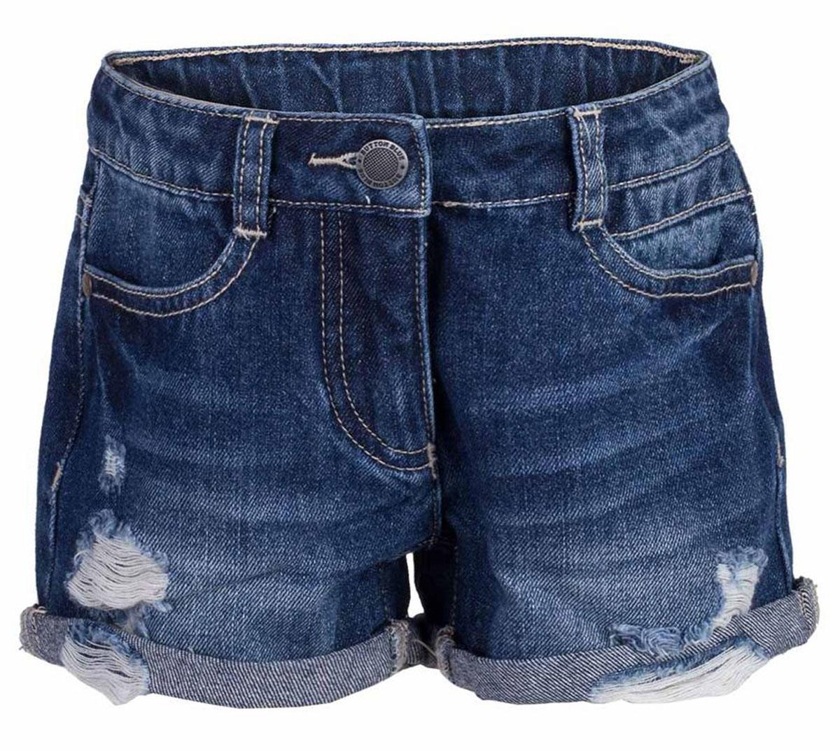 Шорты117BBGC6001D200Джинсовые шорты - залог стильного образа для каждого дня жаркого лета. Отличные шорты по доступной цене гарантируют достойный внешний вид, комфорт и свободу движений. В компании с любой майкой, футболкой, топом, шорты составят прекрасный летний комплект. Если вы хотите купить недорогие детские джинсовые шорты, не сомневаясь в их качестве, высоких потребительских свойствах и соответствии модным трендам, шорты от Button Blue - отличный вариант!