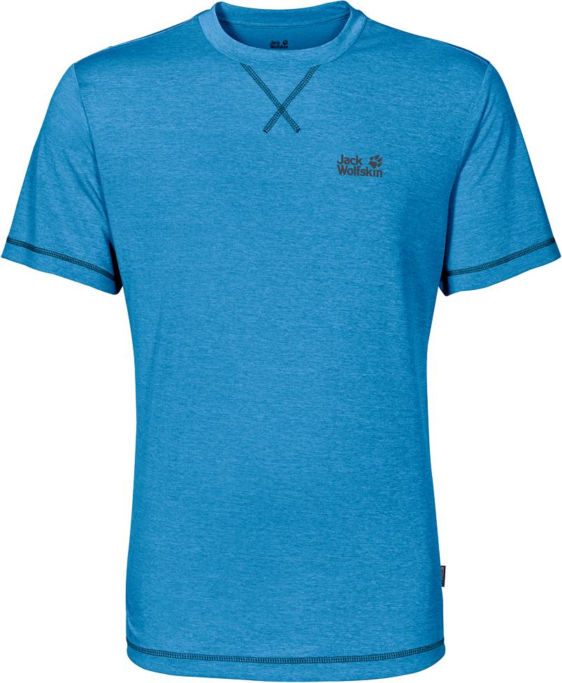 Футболка1801671-1588Футболка мужская Crosstrail T Men изготовлена из 100% полиэстера. Ткань приятно охлаждает кожу во время интенсивных нагрузок и предотвращает появление неприятного запаха. Когда вы выкладываетесь на все сто процентов во время тренировок или походов, ваша футболка активна - она быстро отводит влагу наружу и неизменно обеспечивает ощущение сухости при носке. Модель имеет круглый вырез горловины и короткие стандартные рукава. Футболка дополнена логотипом бренда.