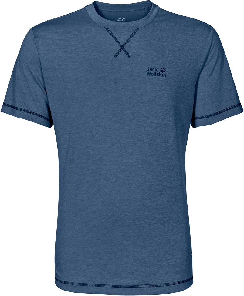 Футболка1801671-1588Охлаждающая и дышащая функциональная футболка с функцией предотвращения неприятного запаха. Охлаждает кожу во время быстрого движения: легкая функциональная CROSSTRAIL подкупает отличной паропроницаемостью. Когда вы выкладываетесь на все сто во время активных туров, ваша футболка абсолютно активна — она быстро отводит влагу наружу и неизменно обеспечивает ощущение сухости при носке. Мягкий материал SINGLE JERSEY (СИНГЛ ДЖЕРСИ) приятно холодит кожу и предотвращает появление неприятного запаха.