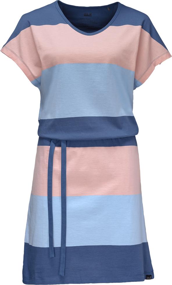 Платье1504071-9951Легкое и мягкое летнее платье из смесовой ткани с органическим хлопком. Стильная полосатая ткань содержит 50% органического хлопка и обладает приятной гладкой текстурой.