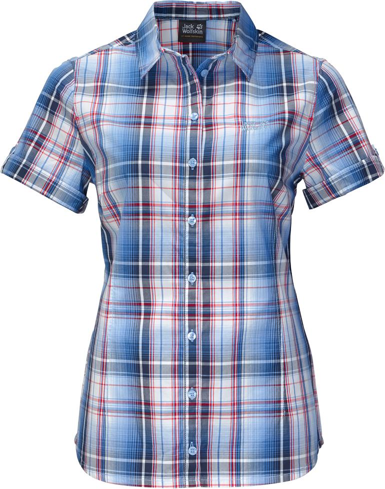 Рубашка1402411-7630Легкая женская рубашка из органического хлопка