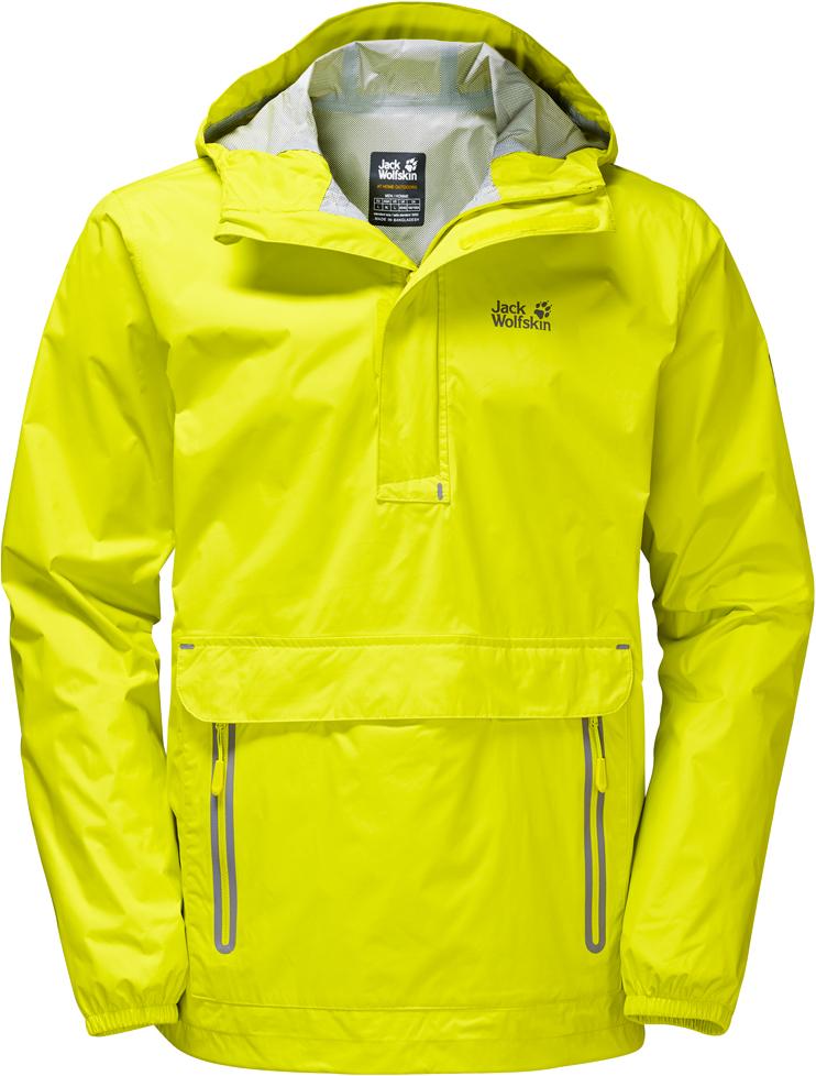 Куртка1109181-6000Куртка-анорак Cloudburst Smock изготовлена из 100% полиамида. Ткань легкая, дышащая, водонепроницаемая и непродуваемая. Модель имеет длинные стандартные рукава с манжетами на резинке, капюшон с регулировкой объема и воротник на молнии. Спереди расположен большой карман с клапаном, в котором удобно хранить карты, GPS и другие необходимые в походе вещи, а также два кармана на молнии. Такая куртка идеальна для небольших походов в лесу или в горах. Если вдруг вас застанет дождь, то не переживайте - куртка не даст вам промокнуть, и вы с комфортом доберетесь до места назначения. Модель компактно складывается и не занимает много места в рюкзаке.
