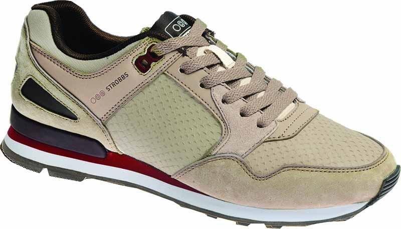 КроссовкиF6492-16Стильные женские кроссовки Strobbs отлично подойдут для активного отдыха и повседневной носки. Верх модели выполнен из текстиля и натуральной замши. Удобная шнуровка надежно фиксирует модель на стопе. Подошва обеспечивает легкость и естественную свободу движений. Мягкие и удобные, кроссовки превосходно подчеркнут ваш спортивный образ и подарят комфорт.
