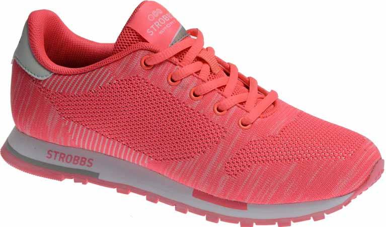 КроссовкиF6494-11Стильные женские кроссовки Strobbs отлично подойдут для активного отдыха и повседневной носки. Верх модели выполнен из текстиля по бесшовной технологии. Удобная шнуровка надежно фиксирует модель на стопе. Подошва обеспечивает легкость и естественную свободу движений. Мягкие и удобные, кроссовки превосходно подчеркнут ваш спортивный образ и подарят комфорт.