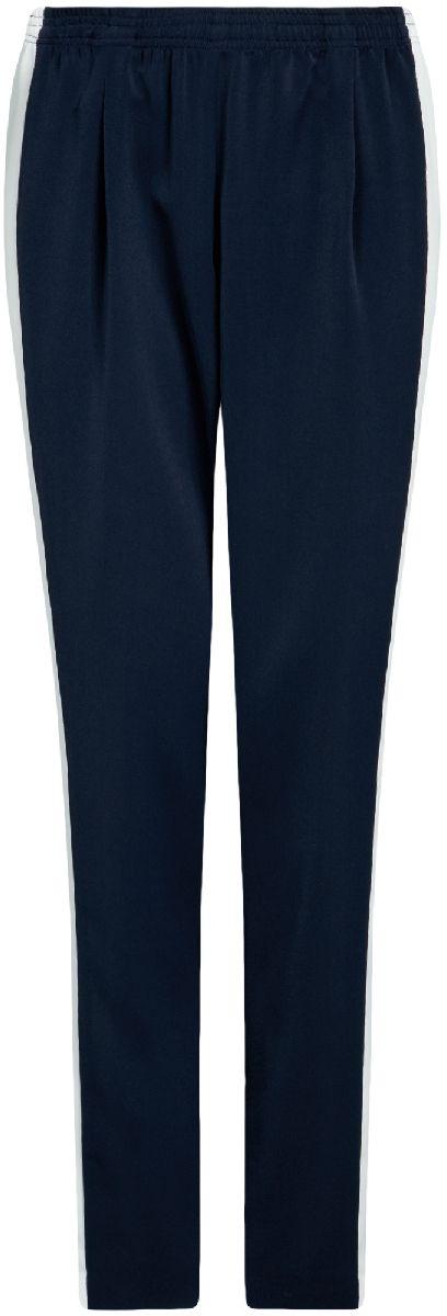 Брюки11709034/42405/2962BЖенские легкие брюки oodji Ultra выполнены из высококачественного материала. Модель стандартной посадки оформлена лампасами.