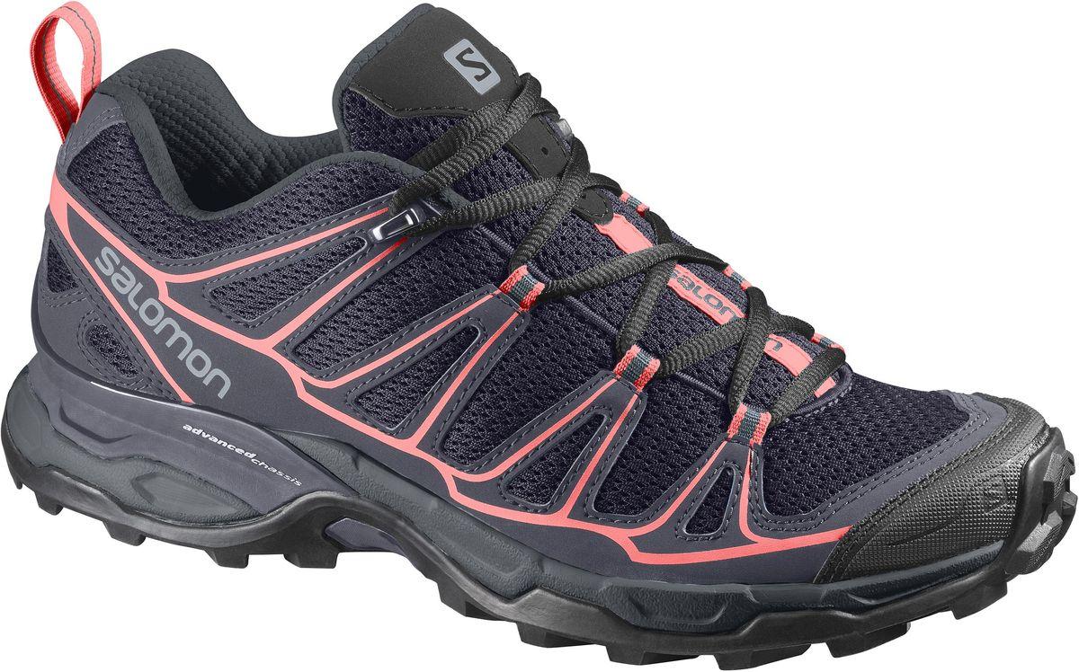 КроссовкиL39184300Устойчивость и защита в сочетании с классической шнуровкой и дышащим верхом: X-Ultra Prime — отличная обувь для походников, которым нужна высокая скорость на пересеченной местности.