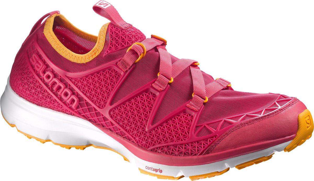 КроссовкиL37968000Новый уровень качества на суше и в воде: сандалии Crossamphibian сочетают подошву беговой обуви, обладающую хорошим сцеплением на мокрой поверхности, с плотно прилегающим эластичным верхом из сетчатой ткани, который быстро сохнет и защищает от попадания камней. Отлично подходит для интенсивных нагрузок в жаркую или сырую погоду.