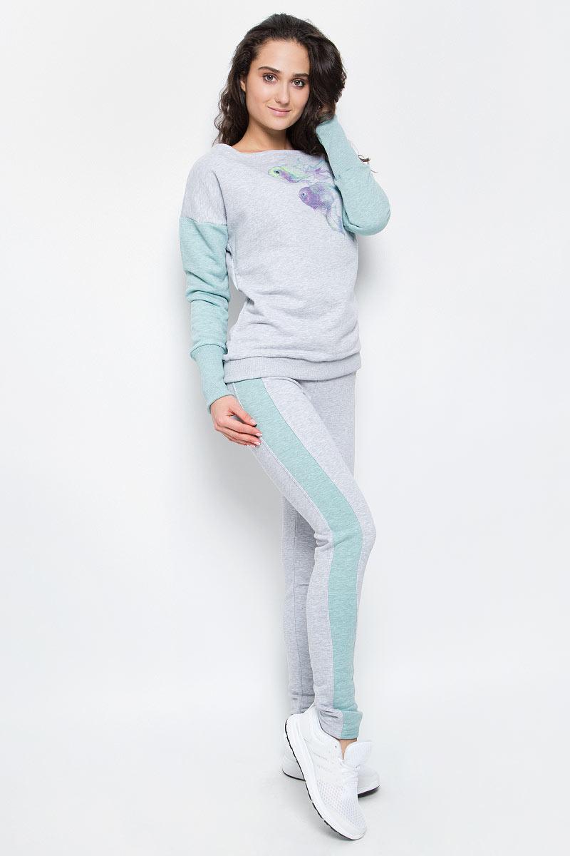 Брюки спортивныеAL-3110Суперкомфортные брюки Grishko прямого кроя с лампасами и эластичным поясом прекрасно подойдут для спортивных тренировок и прогулок на свежем воздухе. Модель изготовлена с вставками контрастного цвета, создающими стройный силуэт. Выполнена из мягкого меланжированнного хлопка с лайкрой нового поколения - необычайно качественного и приятного на ощупь материала.