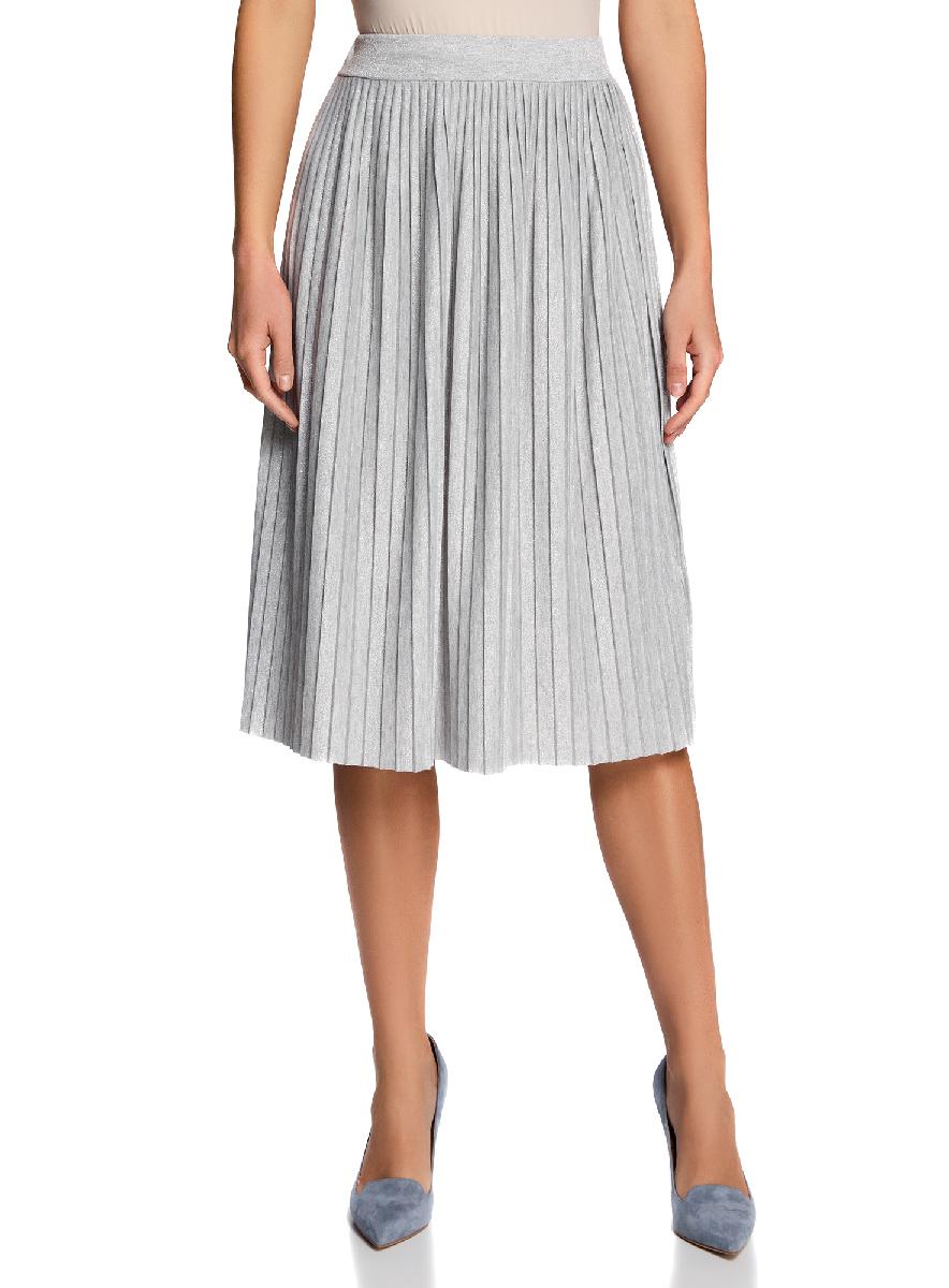 Юбка14100072/46609/4B00XУльтрамодная плиссированная юбка выполнена из высококачественного материала. Моедль длины миди.