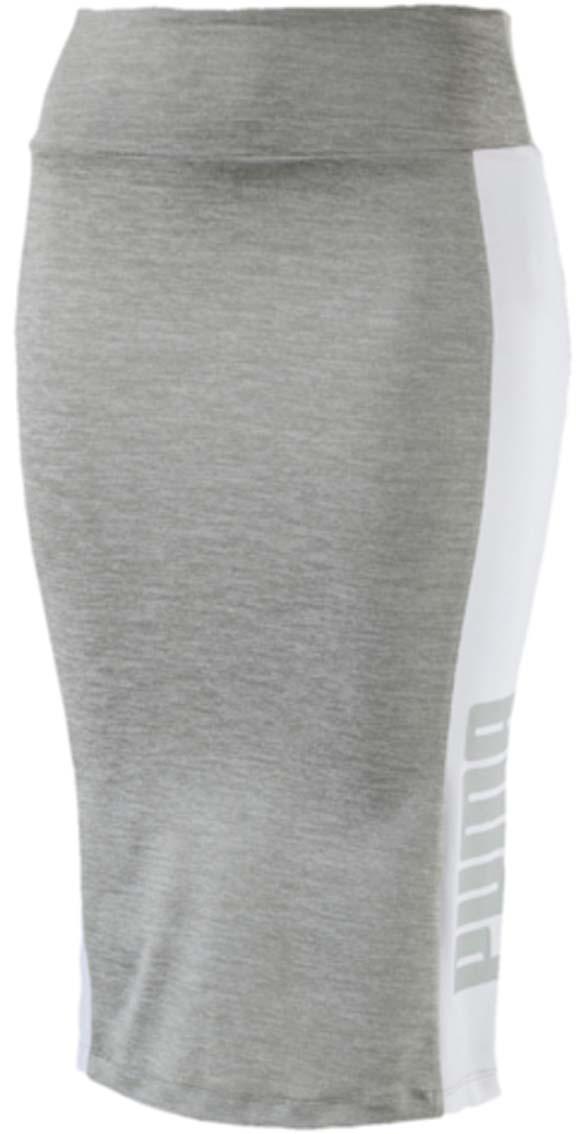 Юбка57248404Юбка Archive Logo Pencil Skirt спортивного фасона станет выбором активных и стильных девушек. Эта модель прилегающего силуэта подчеркивает красоту фигуры и позволяет быть элегантной даже в спортивной одежде. Мягкий широкий пояс создает комфорт движений. По бокам имеются вставки с надписью PUMA.