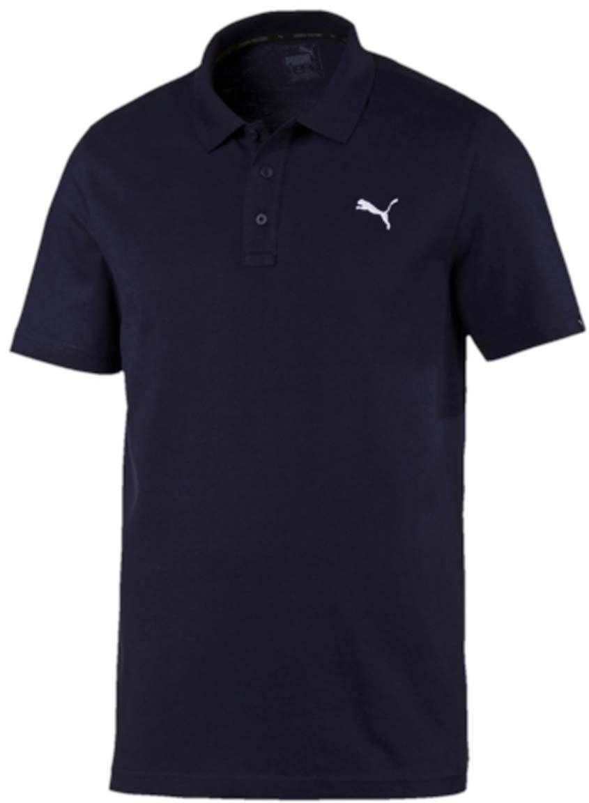 Поло83824706Стильная мужская рубашка-поло ESS Jersey Polo выполнена из 100% хлопка с финальной влагоотводящей обработкой на биологической основе. Модель декорирована логотипом PUMA. Среди других отличительных особенностей изделия - отложной воротник из эластичного трикотажа в рубчик и отделка тесьмой с фирменной символикой с внутренней стороны ворота. Классический крой понравится ценителям простого и лаконичного стиля, а воротник добавит элегантности модели. Отличный вариант для повседневного образа.