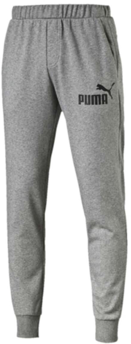Брюки спортивные838265_03Мужские спортивные брюки ESS No.1 Sweat Pants TR cl изготовлены из хлопка с добавлением полиэстера. Среди отличительных особенностей изделия - пояс с продернутыми затягивающимися шнурами, карманы в швах, нашитая сверху задняя кокетка для лучшей посадки по фигуре, а также отделка манжет по низу штанин трикотажем в резинку. Брюки декорированы прорезиненным логотипом PUMA.