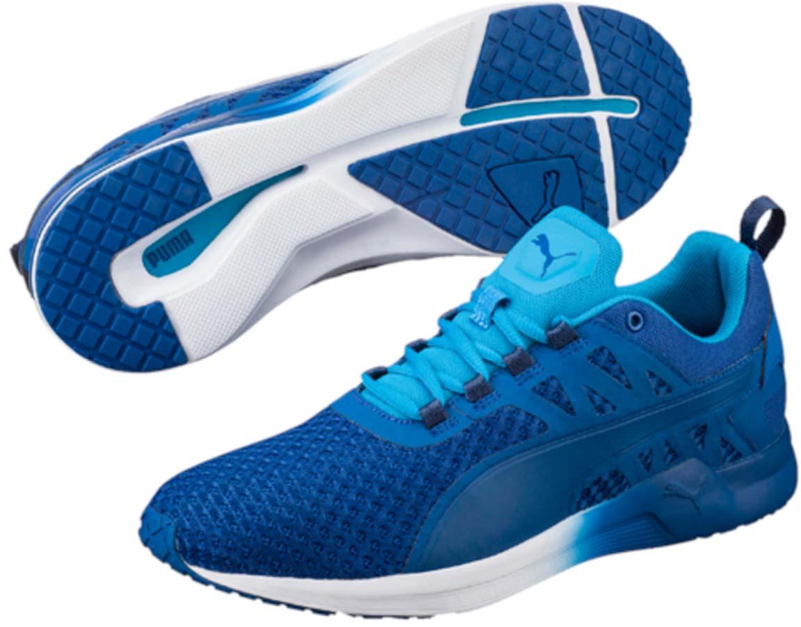 Кроссовки18947401Самая динамичная модель тренировочной обуви, разработанная PUMA специально для мужчин - это, несомненно, кроссовки Pulse XT v2 с их лаконичным и мужественным стилем. В этих кроссовках так и хочется бежать быстрее, повышать нагрузки, открывая новые возможности своего организма. Эта сверхэластичная и сверхлегкая модель предназначена для функциональных и силовых тренировок высокой степени интенсивности. Благодаря пене IGNITE энергия толчка не только расходуется, но и возвращается, а эластичная подошва с глубокой бороздой по центру по всей длине позволяет легко и безопасно совершать резкие повороты и смелые маневры. Еще одной мужской чертой в дизайне модели стал чуть завышенный силуэт, мягко поддерживающий голень.