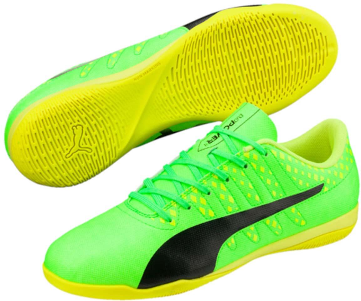 Кроссовки10396601Футбольные бутсы evoPOWER Vigor 4 - качественная модель по доступной цене в линейке футбольной обуви evoPOWER от PUMA. Облегченный верх сочетает прочность и комфорт со свежим дизайном, вдохновленным флагманской моделью evoPOWER Vigor 1. Мягкая и прочная искусственная кожа верха обеспечивает легкость, удобство, долговечность и износостойкость. Продуманная передовая конфигурация шипов обеспечивает оптимальный баланс между сцеплением с поверхностью и мощностью отталкивания.