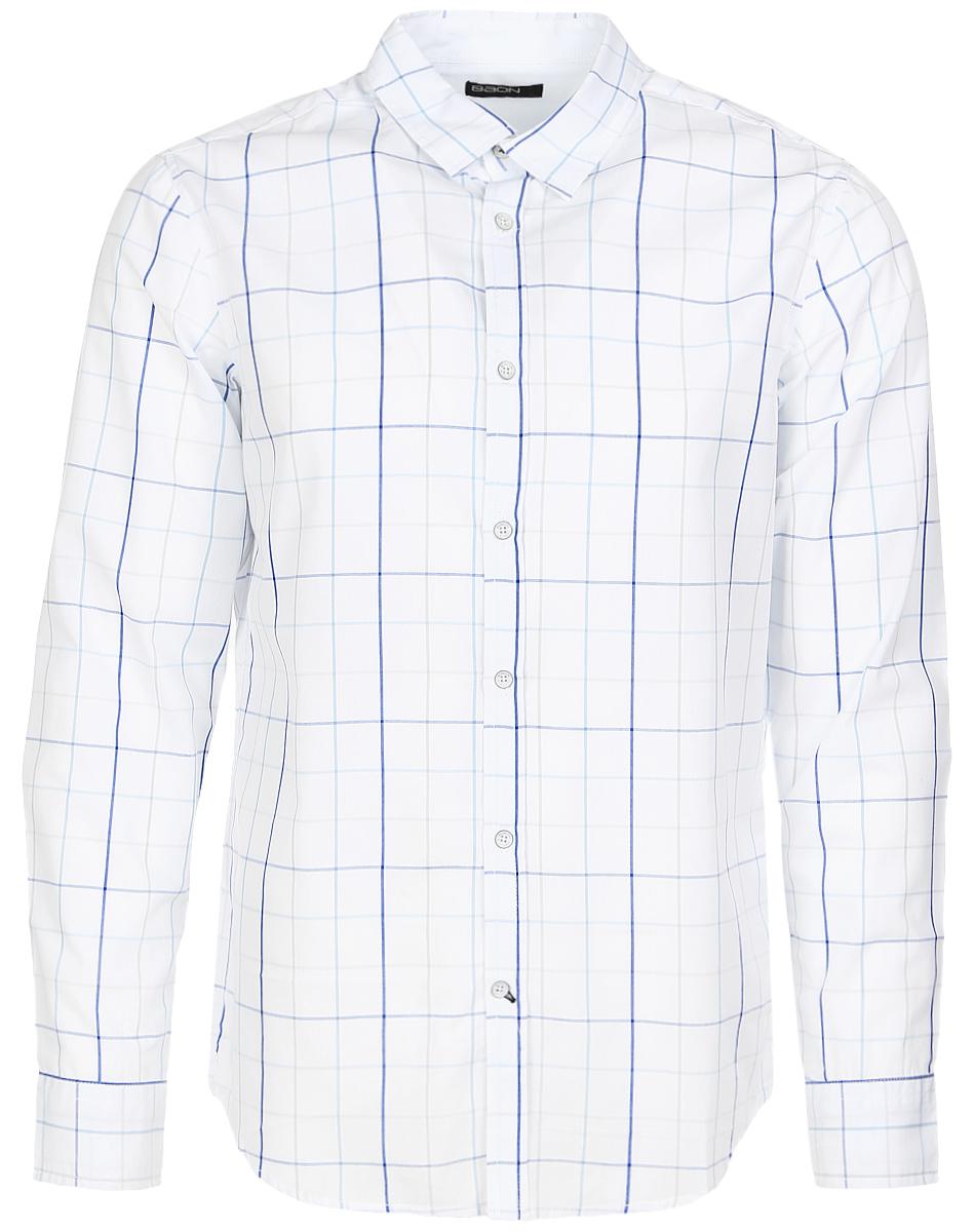 РубашкаB667009_White CheckedСтильная мужская рубашка Baon, выполненная из натурального хлопка с добавлением полиэстера, позволяет коже дышать, тем самым обеспечивая наибольший комфорт при носке. Модель классического кроя с отложным воротником, полукруглым низом и длинными рукавами застегивается на пуговицы по всей длине. Манжеты рукавов также застегиваются на пуговицы. Изделие оформлено клетчатым принтом. Такая рубашка будет дарить вам комфорт в течение всего дня и послужит замечательным дополнением к вашему гардеробу.