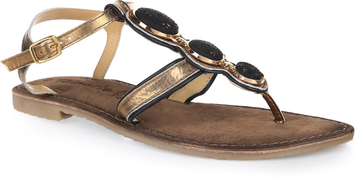 Сандалии1-1-28115-28-971/225Стильные женские сандалии полностью выполнены из натуральной кожи. Модель застегивается на ремешок с металлической пряжкой. Стелька выполнена из мягкой натуральной кожи обеспечит комфорт ногам. Подошва оснащена рифлением.