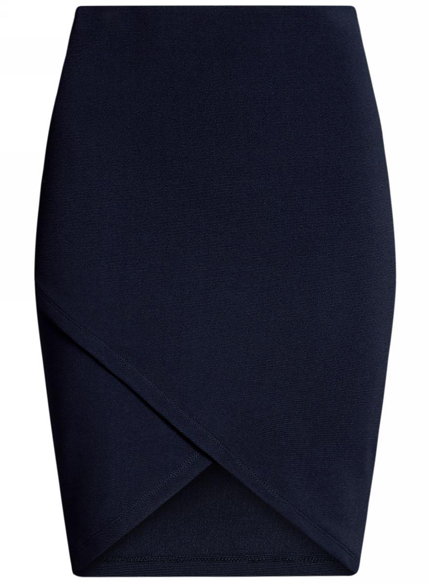 Юбка14101081-1/46935/7900NСтильная юбка с асимметричным низом выполнена из высококачественного трикотажа.