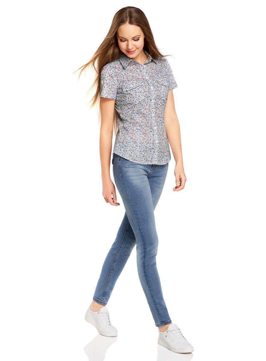 Рубашка11402084-3B/12836/1241F