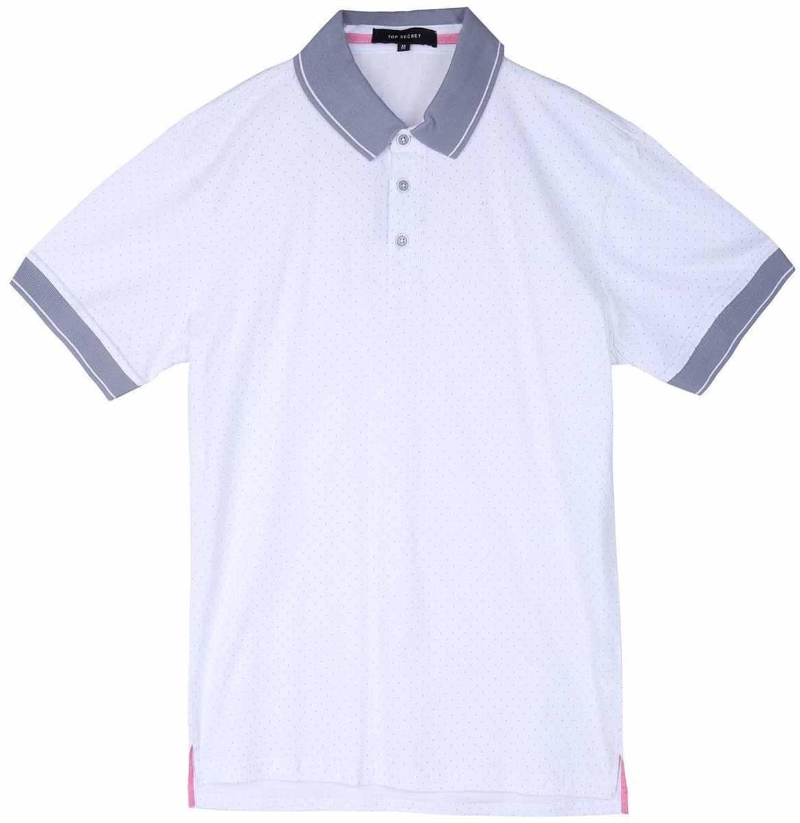 ПолоSKP0392BIМужская футболка-поло Top Secret поможет создать отличный современный образ в стиле Casual. Модель изготовлена из хлопка. Футболка-поло с отложным воротником и короткими рукавами застегивается сверху на три пуговицы. Такая футболка станет стильным дополнением к вашему гардеробу, она подарит вам комфорт в течение всего дня!