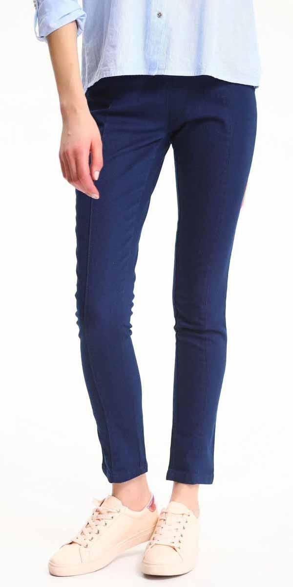 БрюкиSSP2509NIСтильные женские брюки Top Secret - брюки высочайшего качества на каждый день, которые прекрасно сидят. Модель изготовлена из высококачественного комбинированного материала. Эти модные и в тоже время комфортные брюки послужат отличным дополнением к вашему гардеробу. В них вы всегда будете чувствовать себя уютно и комфортно.