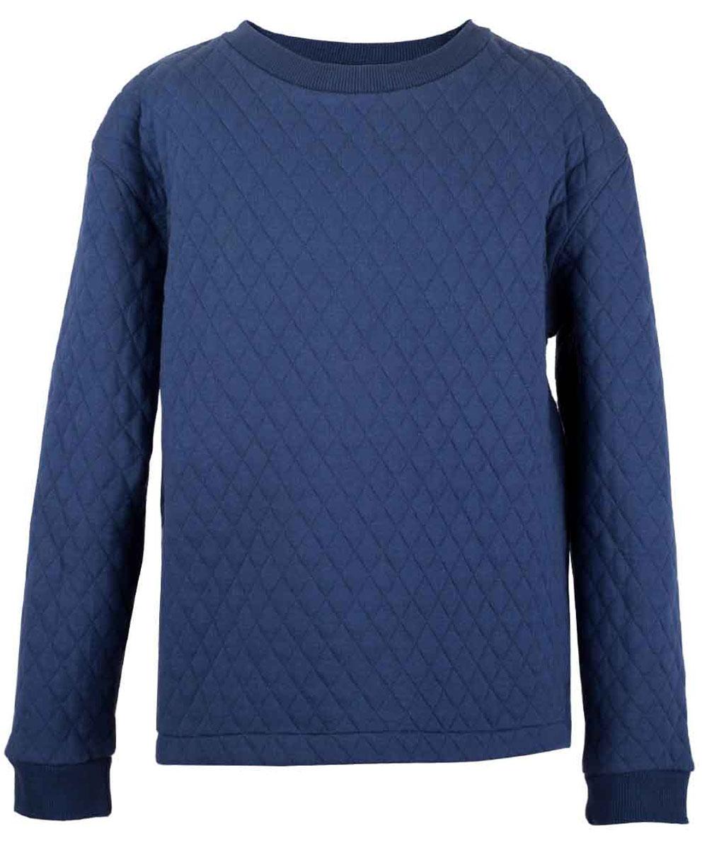 Толстовка117BBBC16051000Детская толстовка - хит прогулочного и домашнего гардероба! Модная, удобная, практичная, толстовка для мальчика - отличная вещь на каждый день. Не сомневайтесь, желая купить недорого качественную толстовку! Это вполне реально! Синяя толстовка от Button Blue с ярко выраженной фактурой, имитирующей модную стежку, гарантирует прекрасный внешний вид, комфорт и свободу движений. Низкая цена не окажет влияния на бюджет семьи, позволив создать оптимальный базовый гардероб для долгожданных каникул!