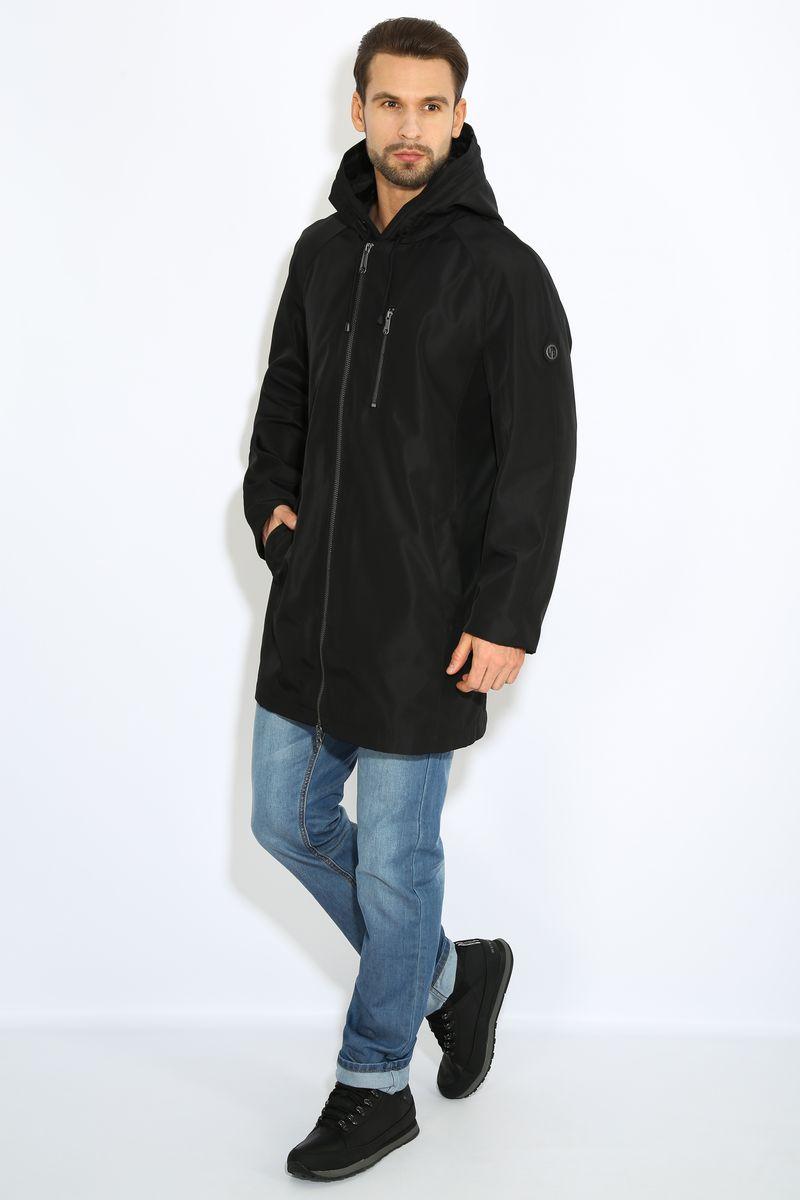 КурткаB17-42000Куртка мужская Finn Flare выполнена из полиэстера. Модель с капюшоном застегивается на застежку-молнию.